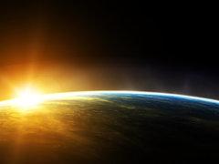 الأرض والشمس